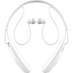 LG Electronics Tone Pro HBS-750 Bluetooth Wireless Stereo Headset - Retail Packaging - White