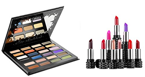 Kat Von D Star Studded Eyeshadow Book & Studded Kiss Lipstick Set