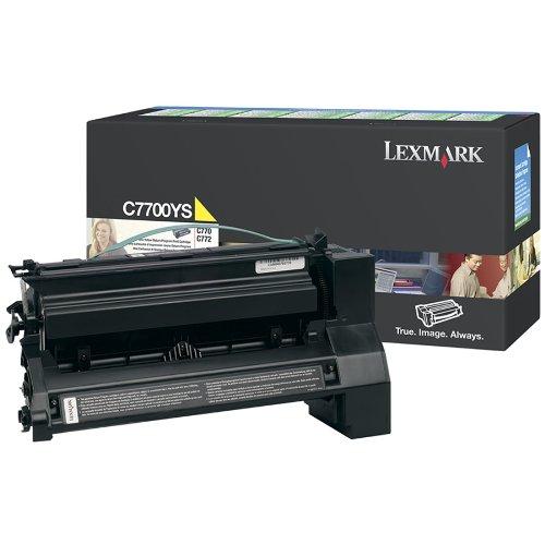 Lexmark - Cartouche de toner - 1 x jaune - 6000 pages - LRP / LCCP