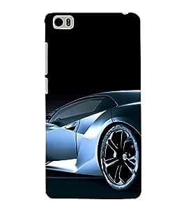 PrintVisa Sports Car Design 3D Hard Polycarbonate Designer Back Case Cover for Xiaomi Redmi Mi5