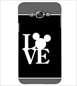 PrintDhaba Love D-1376 Back Case Cover for SAMSUNG GALAXY GRAND MAX (Multi-Coloured)