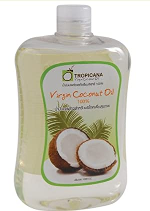 Tropicana Cold Pressed Coconut Oil Extra Virgin 100% High Lauric Acid