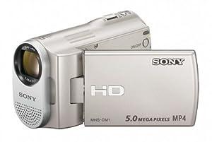 Sony Webbie MHS-CM1 HD Camcorder (Silver)