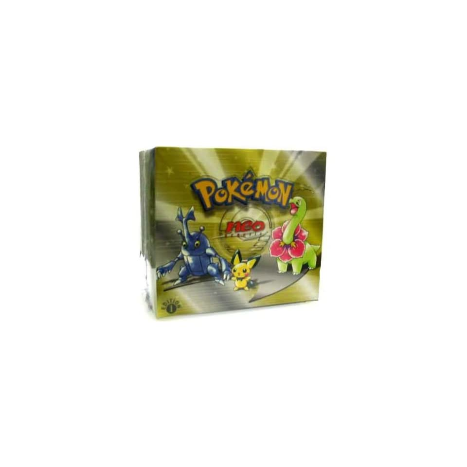 Pokemon Trading Card Game Neo 1 Genesis Booster Box
