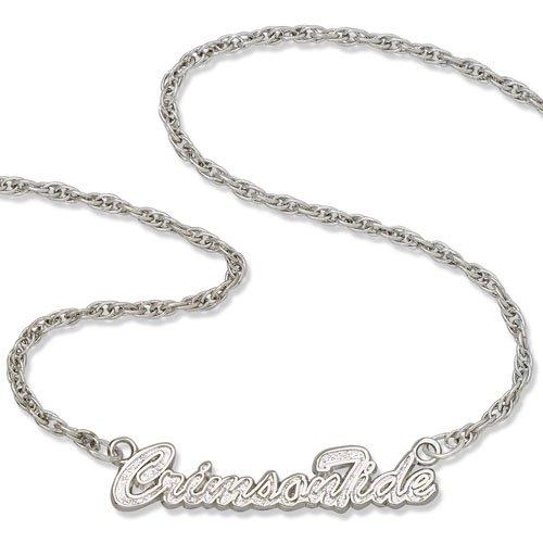 Alabama Script Necklace