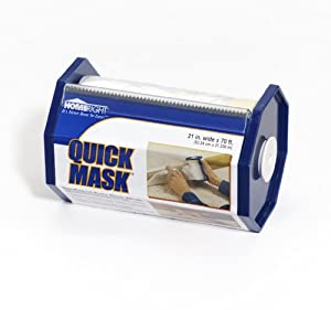HomeRight C800131 Quick Mask Pre-Taped Poly Drop Cloth