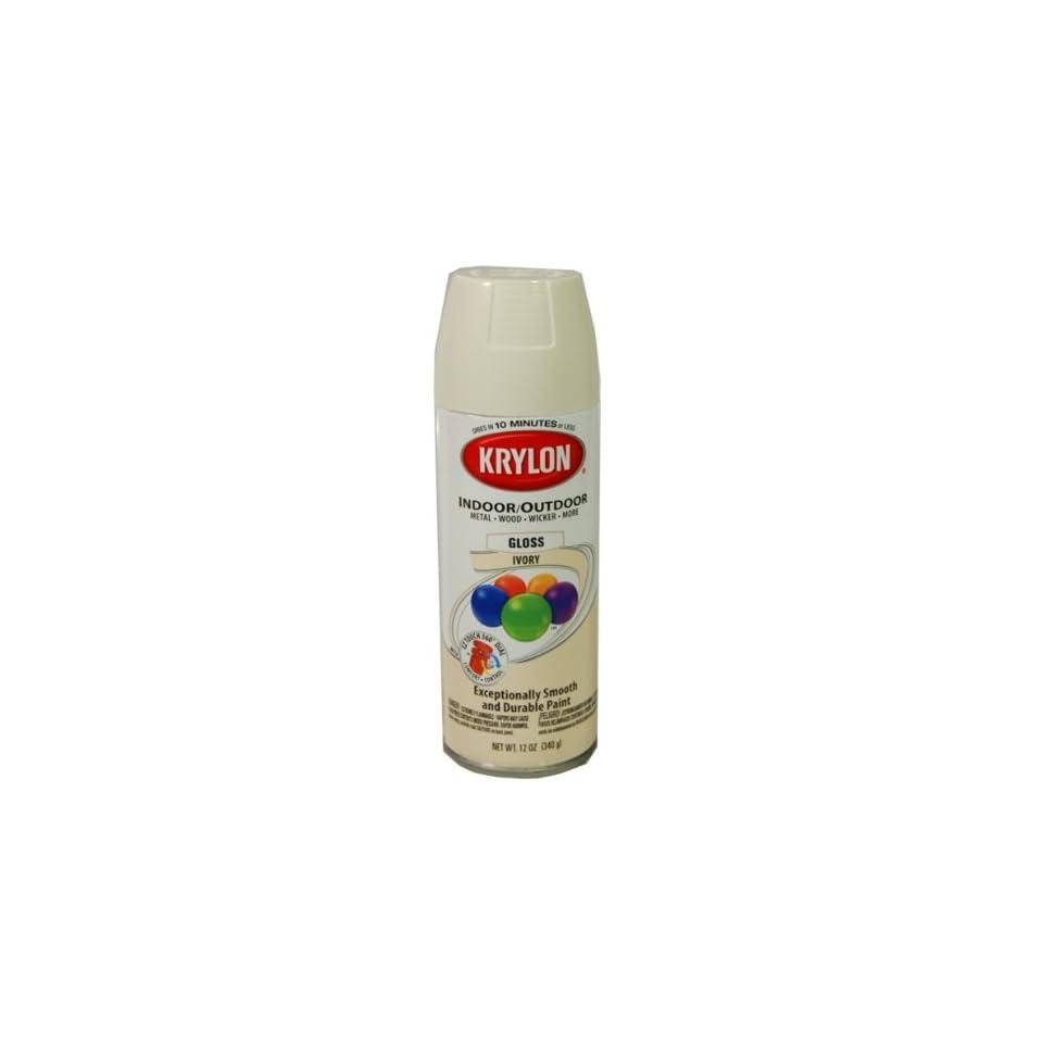 com Krylon Spray Paints 51504 Krylon Ivory Spray Paint KRYLON AEROSOL