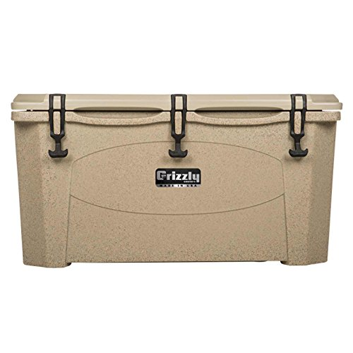 Grizzly Coolers Tailgating Cooler, Sandstone/Tan, 75-Quart (Grizzly 60 Cooler compare prices)