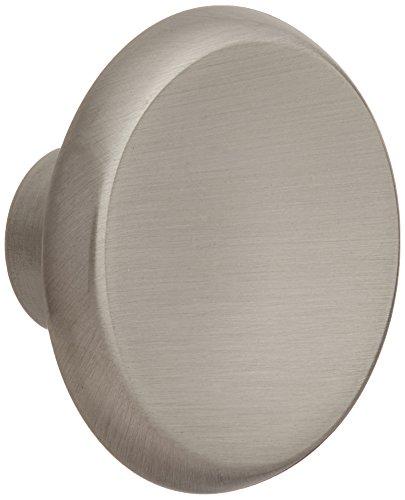 Amerock BP69151-G10 Satin Nickel Round Concave Oversized Cabinet Hardware / Bifold Bi-fold Door Knob - 1-1/2