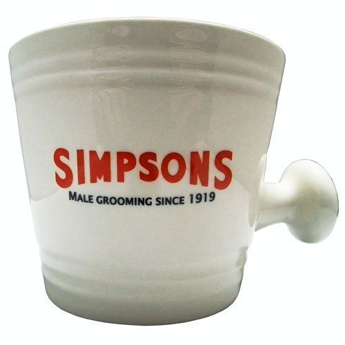 Simpsons crema ciotola da barba-grande