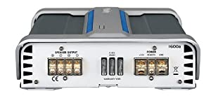 Infinity Reference 1600a 600-Watt, High-Performance Mono Subwoofer Amplifier (Silver/Black)
