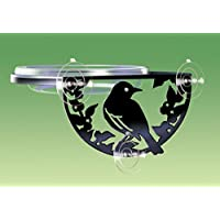 Window-Mount Songbird Feeder (SIL-W) - Manufacturer: Droll Yankees - Model: SIL-W