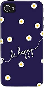 DailyObjects Happy Daisy Case For iPhone 4/4S