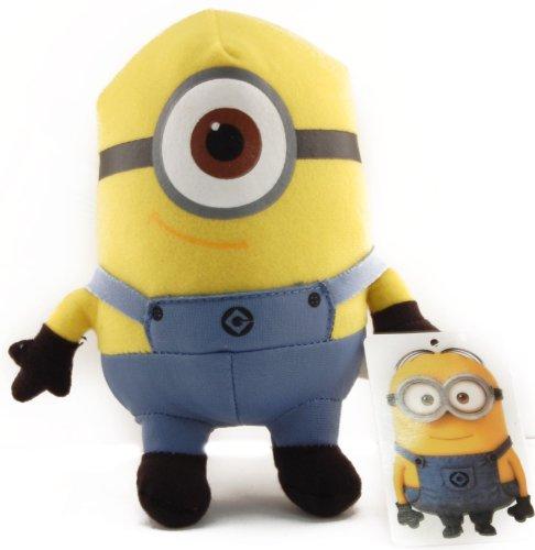"Despicable Me 6"" Plush One Eyed Minion Stuart - 1"