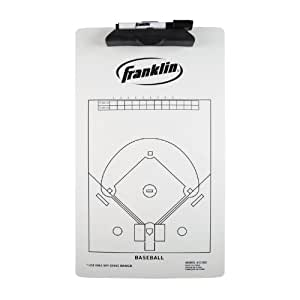 Franklin Sports Baseball Coach Clip Board, 15.75x9-Inch