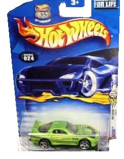 2003 First Editions -#12 24/Seven #2003-24 Collectible Collector Car Mattel Hot Wheels