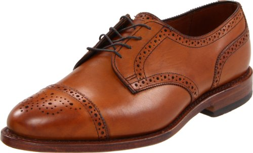 Allen Edmonds Men's Sanford Lace-Up,Walnut,9.5 3E US