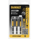 DEWALT DWA2240IR 3-Piece IMPACT READY Cleanable Nutsetter