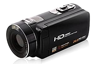 "MARVIE 10x Optical Zoom video camera HDV-Z80 1080P DV 3.0"" TFT LCD screen max 24MP digital HD Face Detection Touch screen camcorder"