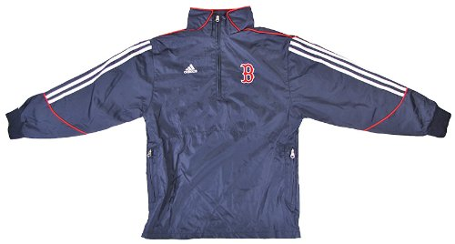 Boston Red Sox Adidas Navy 1/4 Zip Pullover Jacket