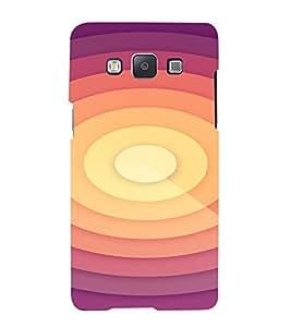 PrintVisa Spiral Pattern 3D Hard Polycarbonate Designer Back Case Cover for Samsung Galaxy A7