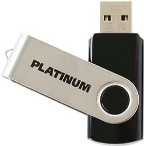 Platinum Twister 16 GB USB-Stick USB 3.0 schwarz