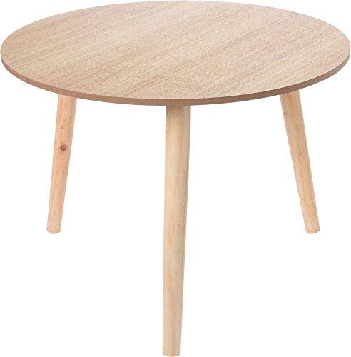Dekorativer-Design-Beistelltisch-Holz-Tisch-rund-50-cm-Couchtisch-Nachttisch-Sofatisch