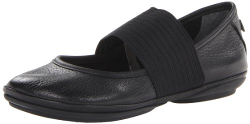 CAMPER Right 21595-018, Ballerine donna, Nero (Black 018), 40 EU