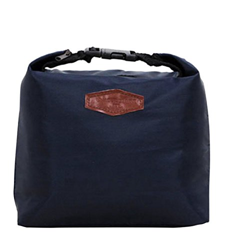 Ayliss® Insulated Cooler Carry Bag Picnic Lunch Food Keep Warm Travel Organizer,Navy Blue (Insulated Lunch Bag Coleman compare prices)