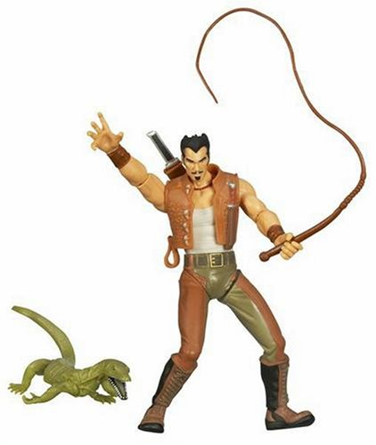 Spider-Man Movie Classic 2 Action Figure Kraven. Bullwhip swinging action!