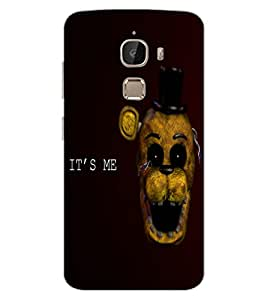 ColourCraft Funny and Scary Monkey Design Back Case Cover for LeEco Le 2 Pro