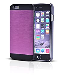 buy New Year Deal Week - Iphone 6 Case Aluminum Cover (Scratch-Proof) With Free Screen Protector For 4.7 Inch Size Phone Cases (Combo Offer) - Perfect For Men, Women, Boys, Girls - Lifetime Warranty (2015) - Aluminum Pink + Bonus Screen Guard (Mh-Ip6-00B)