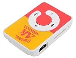 Kriva Enterprise Mini Mp3 Player (Yellow and Orange)