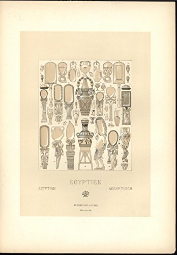 egyptian-mirrors-beautifully-carved-handles-mythical-c1888-antique-lovely-print