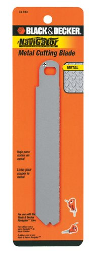 Black & Decker 74-593 Metal Cutting Blade for SC500 Navigator (Black And Decker Metal Cutter compare prices)