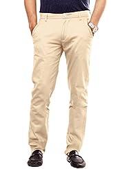 Uber Urban Mens Slim Fit Sleek Pant Lycra Trouser 1