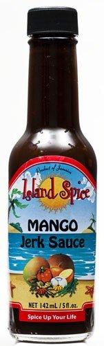 Island Spice Mango Jerk Sauce 5oz