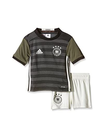 adidas Trainingsoutfit Babykit Dfb A Mini grau/weiß/schwarz