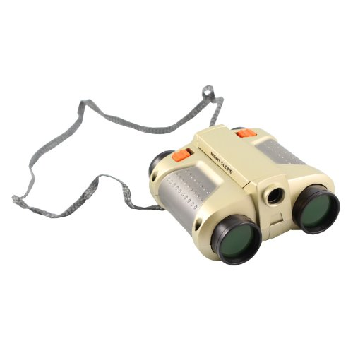 Fine Tools Kids Night Scope 4X30 Binoculars With 25Ft Night Viewing Range