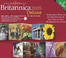 BRITANNICA ENCYCLOPEDIA 2005 DLX - 3CDS