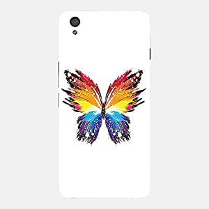 Back cover for OnePlus X Abstract Butterfly