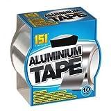 Silber Aluminium-Klebeband 48mm x 10 Meter. Viel Gebrauch!