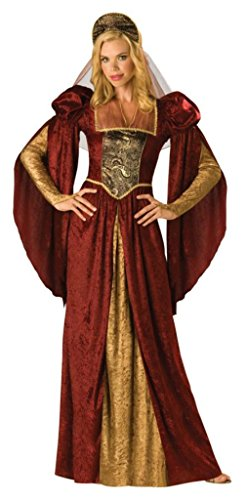 Incharacter Womens Renaissance Maiden Theme Party Fancy Halloween Costume
