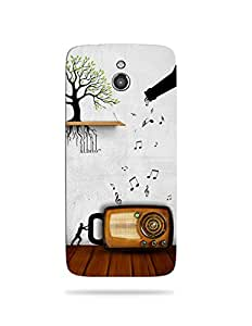 alDivo Premium Quality Printed Mobile Back Cover For Infocus M2 / Infocus M2 Back Case Cover (MKD168)