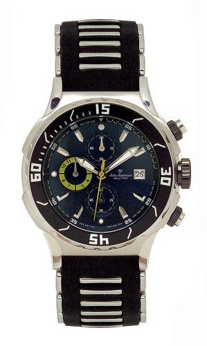 Jules Jurgensen Men's Chronograph Watch #5000SS - Buy Jules Jurgensen Men's Chronograph Watch #5000SS - Purchase Jules Jurgensen Men's Chronograph Watch #5000SS (Jules Jurgensen, Jewelry, Categories, Watches, Men's Watches, Sport Watches, Rubber Banded)