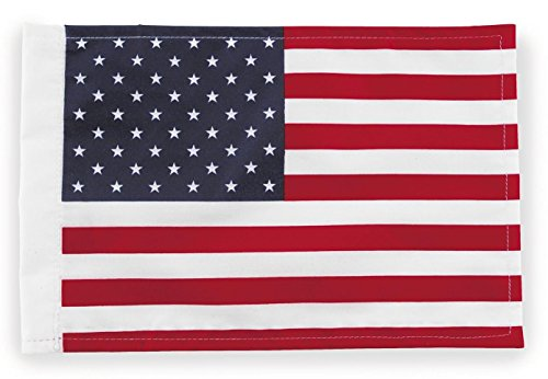 "Pro Pad Flg-Usa15 Sleeved 10"" X 15"" Motorcycle Flag, Usa front-619796"
