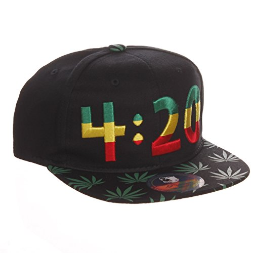 American-Cities-Cannabis-Marijuana-Support-Adjustable-Snapback-Hat-Cap