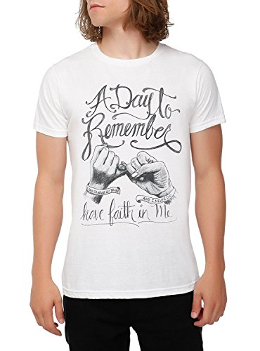 A Day To Remember Have Faith In Me T-Shirt Size : Small