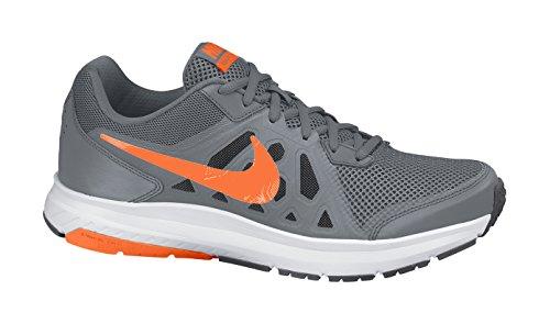 Nike Dart 11 - Scarpe sportive uomo, Cl Grey/Ttl Orng-Drk Gry-White, 43