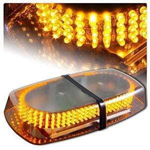 Wecade® Amber 240 LED Super Bright Strobe Light Warning Emergency Flashing Car Truck Construction Car Vehicle Safety